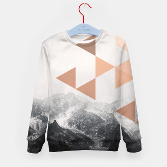 Miniatur Morning in the Mountains Kid's sweater, Live Heroes
