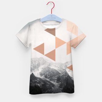 Miniatur Morning in the Mountains Kid's t-shirt, Live Heroes