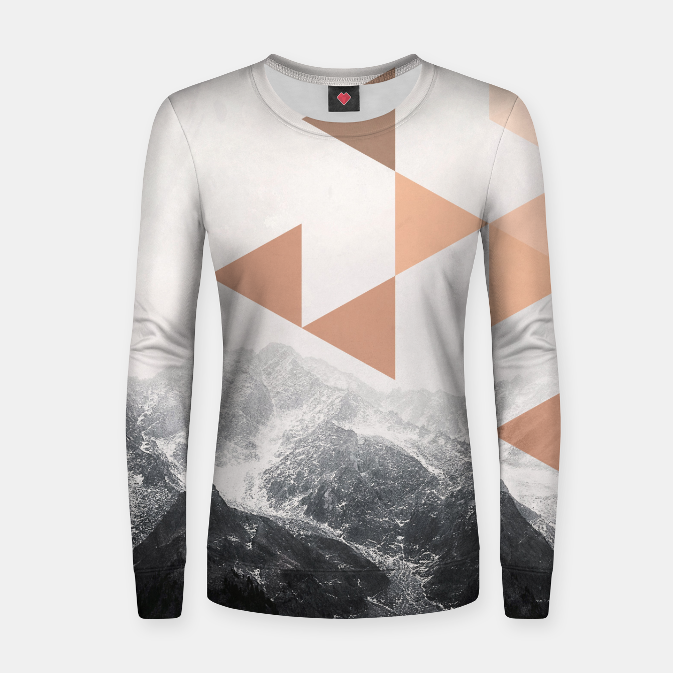 Foto Morning in the Mountains Women sweater - Live Heroes