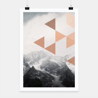 Miniatur Morning in the Mountains Poster, Live Heroes