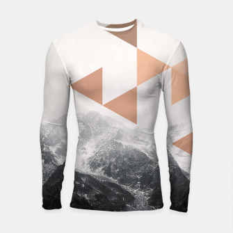 Morning in the Mountains Longsleeve rashguard  Bild der Miniatur
