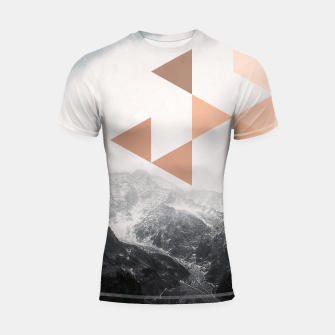 Morning in the Mountains Shortsleeve rashguard Bild der Miniatur