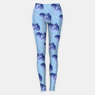 Miniatur Blue wid flower Leggings, Live Heroes