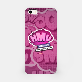 Thumbnail image of (HMU) Hit me up iPhone Case, Live Heroes
