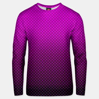 Purple, Polka Dot, Contemporary, Popular Unisex sweater miniature