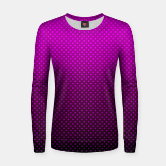 Purple, Polka Dot, Contemporary, Popular Women sweater miniature