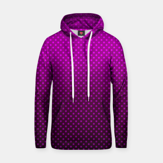 Miniaturka  Purple, Polka Dot, Contemporary, Popular Hoodie, Live Heroes