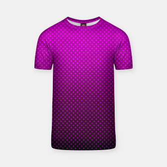 Purple, Polka Dot, Contemporary, Popular T-shirt miniature