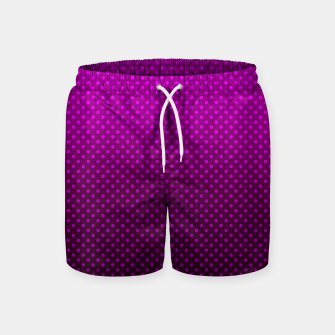 Miniatur  Purple, Polka Dot, Contemporary, Popular Swim Shorts, Live Heroes