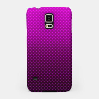 Miniatur  Purple, Polka Dot, Contemporary, Popular Samsung Case, Live Heroes