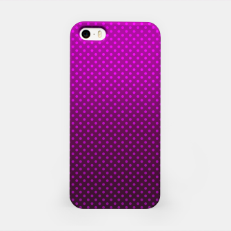 Purple, Polka Dot, Contemporary, Popular iPhone Case miniature