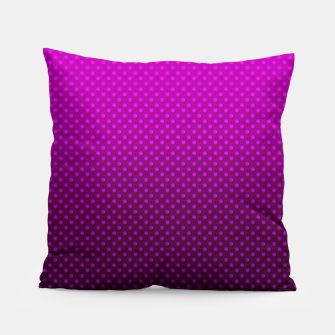 Purple, Polka Dot, Contemporary, Popular Pillow miniature