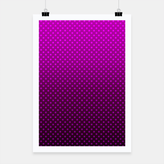 Purple, Polka Dot, Contemporary, Popular Poster miniature