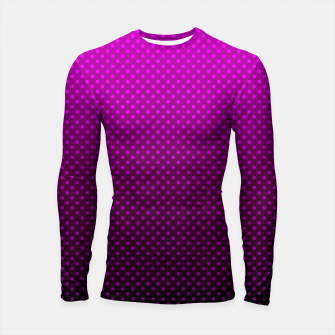 Miniatur  Purple, Polka Dot, Contemporary, Popular Longsleeve rashguard , Live Heroes