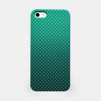 Thumbnail image of Ombre, gradient, Dot, turkusowy Dot, Moda, turkusowy Ombre iPhone Case, Live Heroes