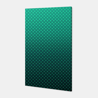 Thumbnail image of Ombre, gradient, Dot, turkusowy Dot, Moda, turkusowy Ombre Canvas, Live Heroes