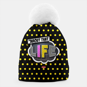 Miniatur About that life  Beanie, Live Heroes