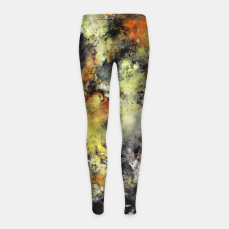Thumbnail image of The greed Girl's leggings, Live Heroes