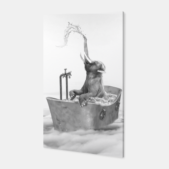 Thumbnail image of BABY ELEPHANT BATH Canvas, Live Heroes