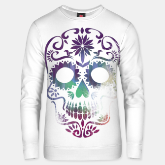 Thumbnail image of Cracked Skull  Unisex sweater, Live Heroes