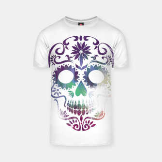 Thumbnail image of Cracked Skull  T-shirt, Live Heroes