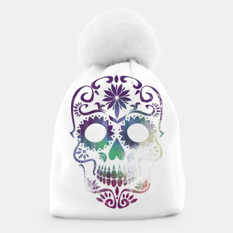 Thumbnail image of Cracked Skull  Beanie, Live Heroes
