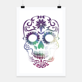Thumbnail image of Cracked Skull  Poster, Live Heroes
