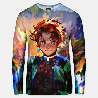 demon slayer Unisex sweater obraz miniatury