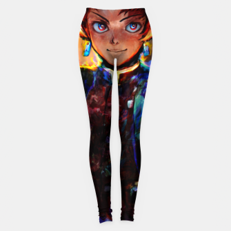 demon slayer Leggings obraz miniatury