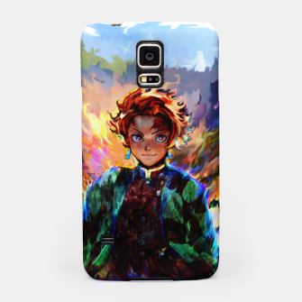 demon slayer Samsung Case obraz miniatury