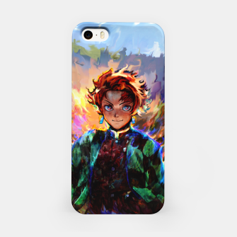 demon slayer iPhone Case obraz miniatury