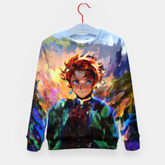 demon slayer Kid's sweater obraz miniatury