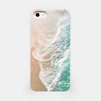 Thumbnail image of Soft Emerald Beige Ocean Dream Waves #1 #water #decor #art iPhone-Hülle, Live Heroes