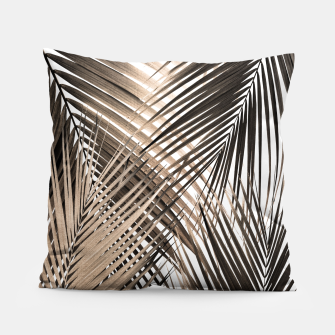 Imagen en miniatura de Golden Brown Palm Leaves Dream - Cali Summer Vibes #1 #tropical #decor #art  Kissen, Live Heroes