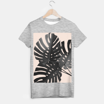 Tropical Monstera Finesse Glam #1 #tropical #decor #art T-Shirt regulär thumbnail image