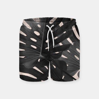 Tropical Monstera Finesse Glam #1 #tropical #decor #art Badeshorts thumbnail image