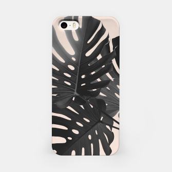 Tropical Monstera Finesse Glam #1 #tropical #decor #art iPhone-Hülle thumbnail image