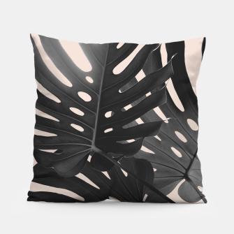 Tropical Monstera Finesse Glam #1 #tropical #decor #art Kissen thumbnail image
