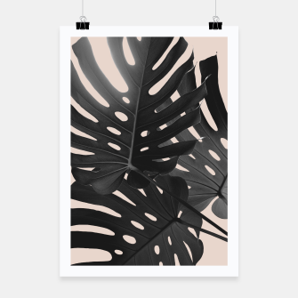 Tropical Monstera Finesse Glam #1 #tropical #decor #art Plakat thumbnail image