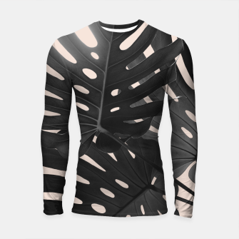 Tropical Monstera Finesse Glam #1 #tropical #decor #art Longsleeve rashguard thumbnail image