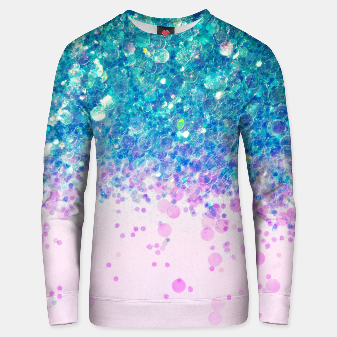 Image of Unicorn Princess Glitter #4 (Photography) #sparkly #decor #art  Unisex sweatshirt - Live Heroes