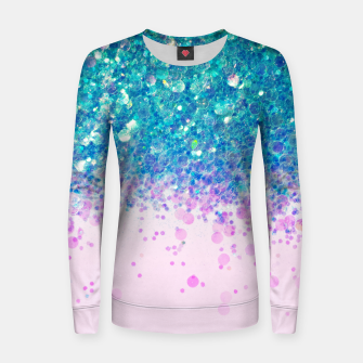 Unicorn Princess Glitter #4 (Photography) #sparkly #decor #art  Frauen sweatshirt thumbnail image