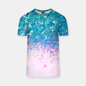 Miniaturka Unicorn Princess Glitter #4 (Photography) #sparkly #decor #art  T-Shirt, Live Heroes
