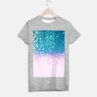Unicorn Princess Glitter #4 (Photography) #sparkly #decor #art  T-Shirt regulär thumbnail image