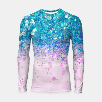Miniaturka Unicorn Princess Glitter #4 (Photography) #sparkly #decor #art  Longsleeve rashguard, Live Heroes