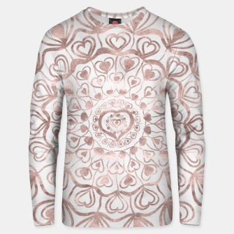 Miniaturka Heart Mandala on Marble #1 #decor #art  Unisex sweatshirt, Live Heroes