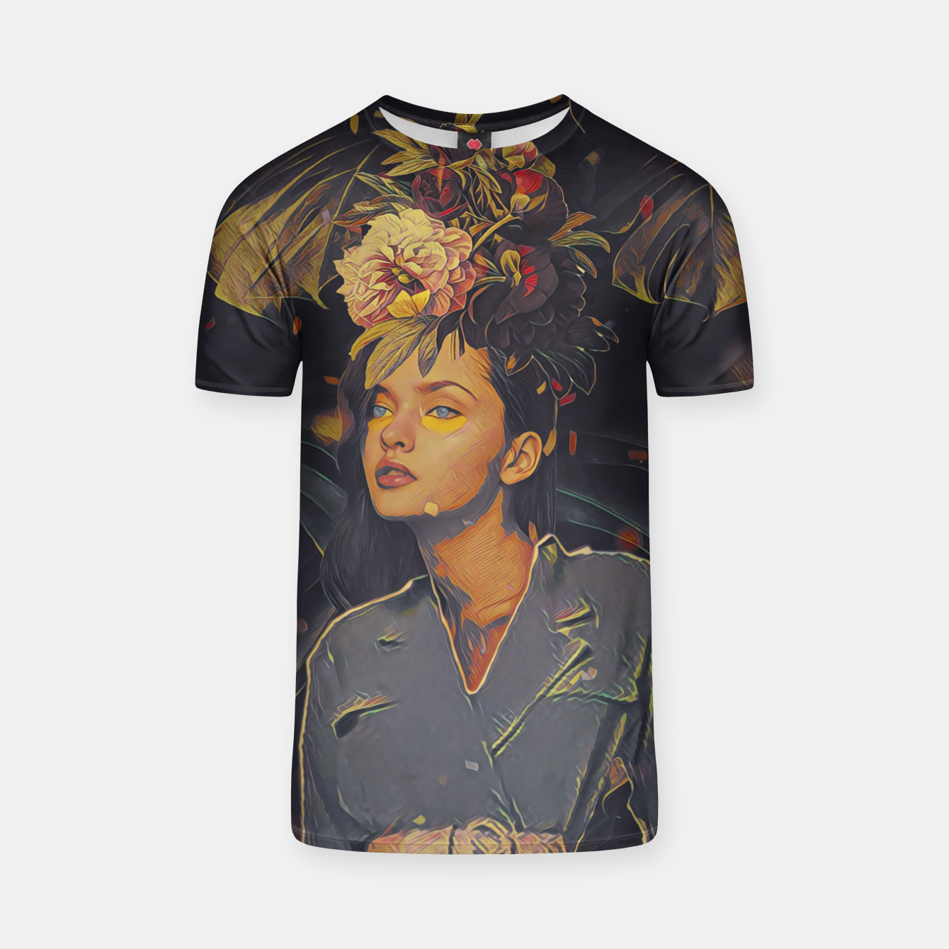 Image of Floral Fashion T-shirt - Live Heroes