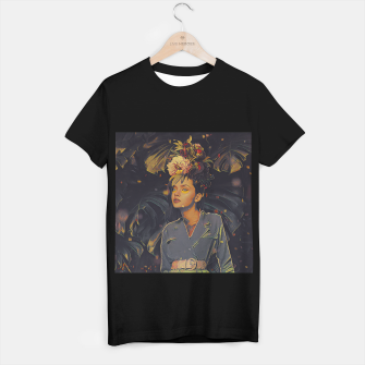 Thumbnail image of Floral Fashion T-shirt regular, Live Heroes