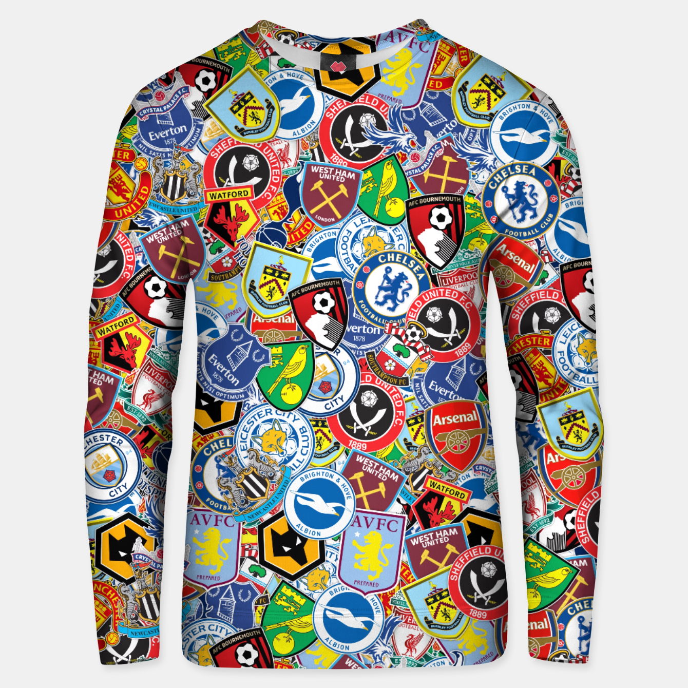 Image of Premier League stickerbombing Unisex sweater - Live Heroes