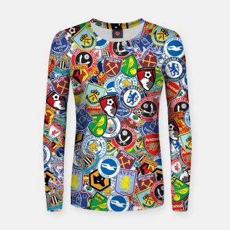 Thumbnail image of Premier League stickerbombing Women sweater, Live Heroes